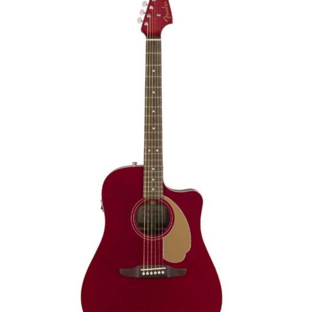 Fender Redondo Player Elektro-Akoestisch Candy Apple Red