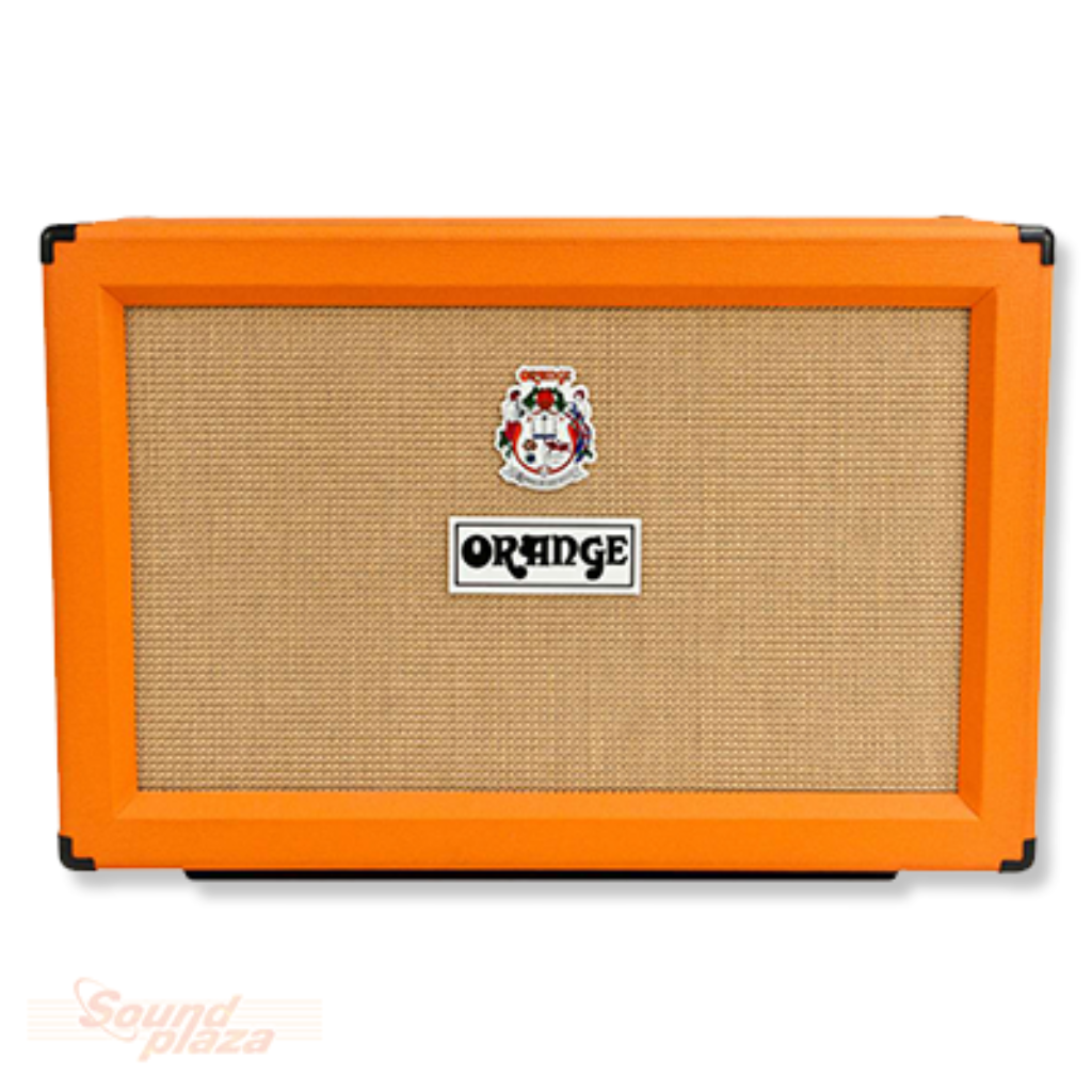Orange PPC212 2x12 Extension Cabinet Open Back