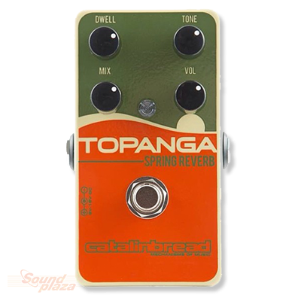 Catalinbread Topanga Spring Reverb Effectpedaal