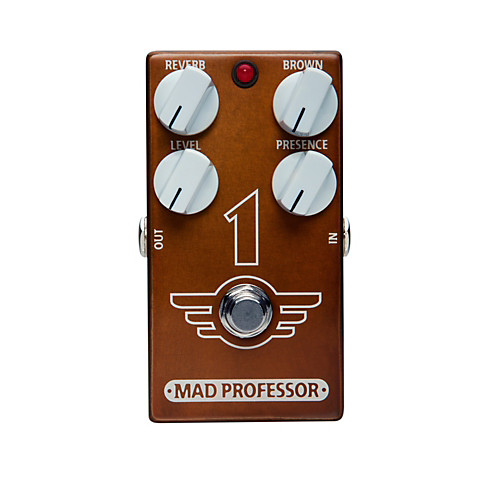 Mad Professor 1 Brown Sound Distortion / Reverb Effectpedaal