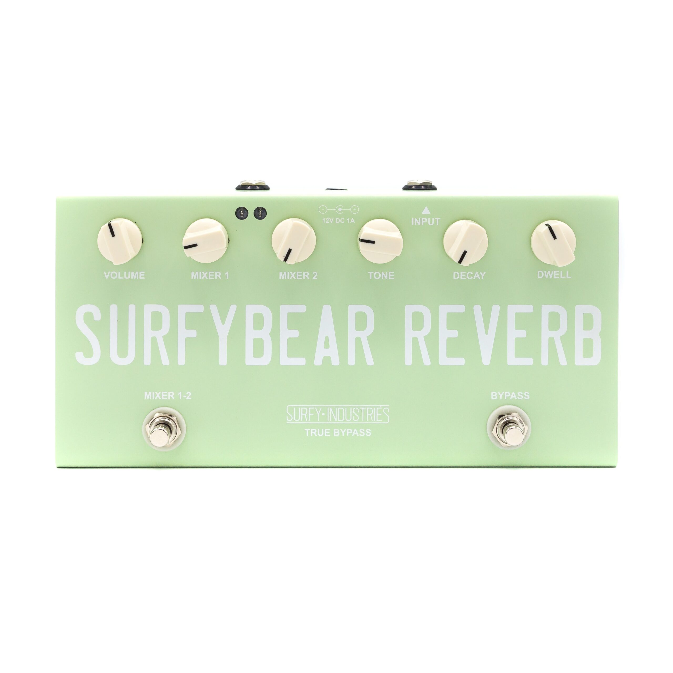 SurfyBear-Reverb-Compact-Surf-Green-front