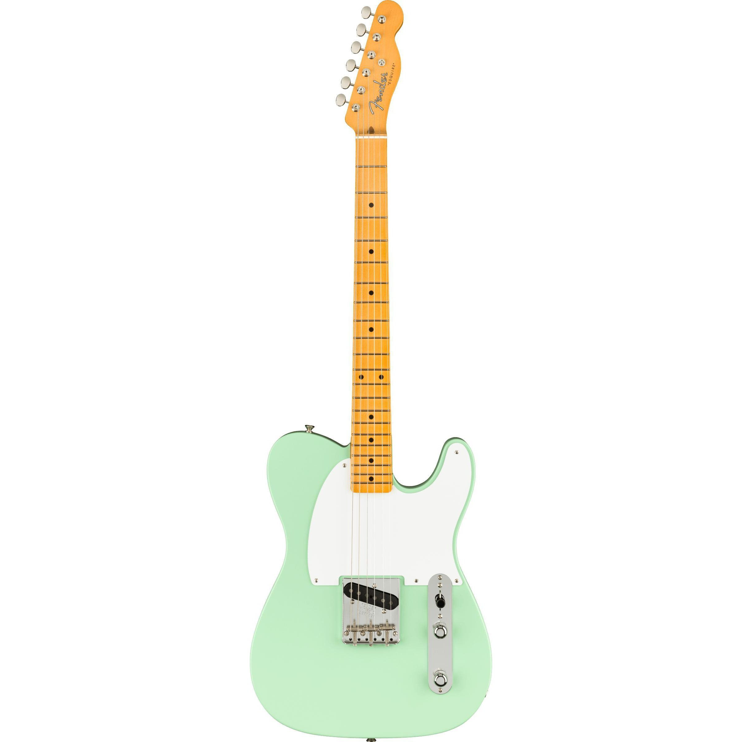 fender-70th-anniversary-esquire-electric-guitar-surf-green-logans-pianos
